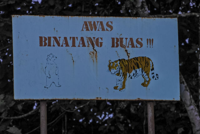 Sumatra-sign